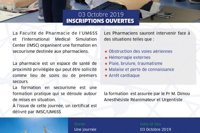 formations Secourisme : Inscriptions Ouvertes
