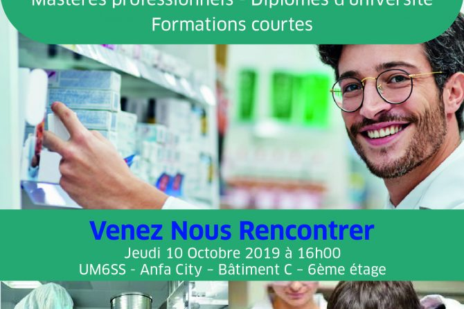 Café rencontre Formation Continue en Pharmacie